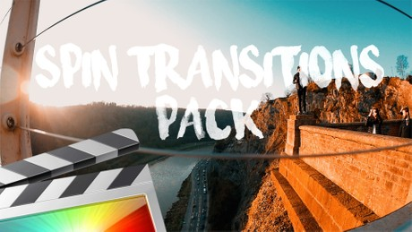 Spin Transitions Pack - Final Cut Pro X