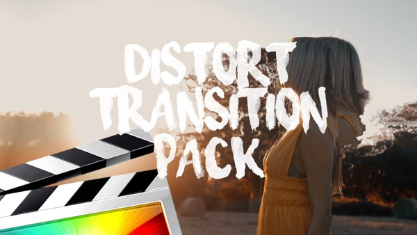 Distort Transitions - Final Cut Pro X