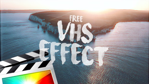 Free VHS Effect - Final Cut Pro X - Ryan Nangle