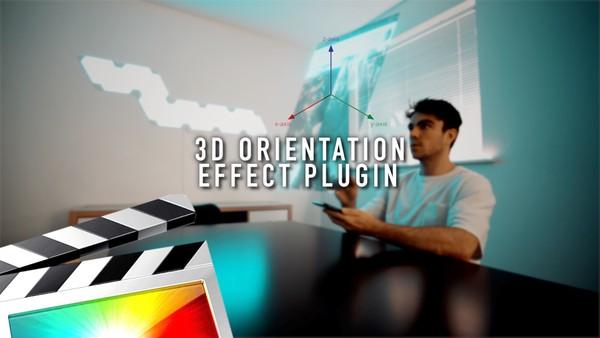 3D Orientation Effect - Final Cut Pro X