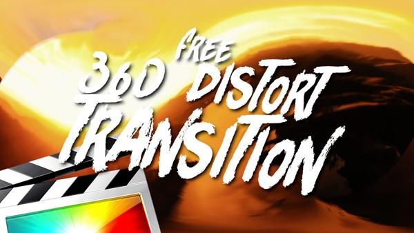 Free 360 Distort Transitions - Final Cut Pro X