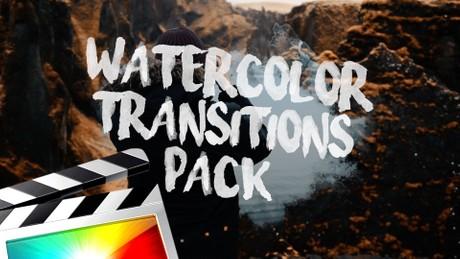 Watercolor Transitions - Final Cut Pro X