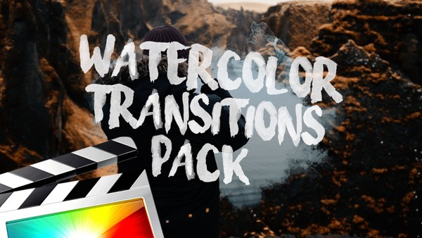 Watercolor Transitions - Final Cut Pro X