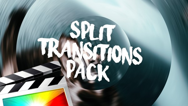 Split Transitions Pack - Final Cut Pro X