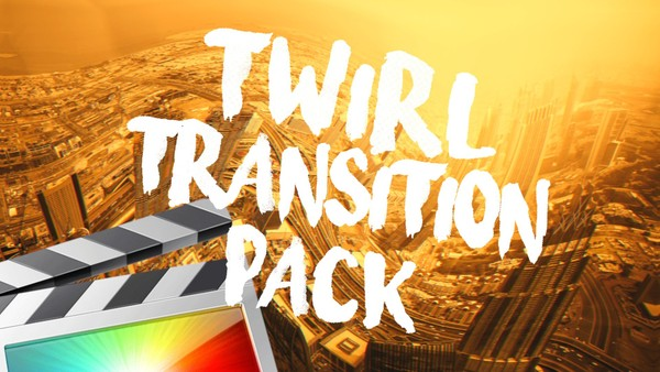 Twirl Transition Pack - Final Cut Pro X
