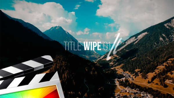 FCPX Title Wipe