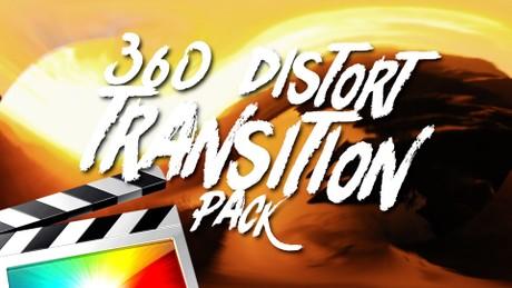360 Distort Transition Pack - Final Cut Pro X