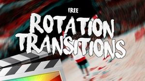 Free Rotation Transitions - Final Cut Pro X