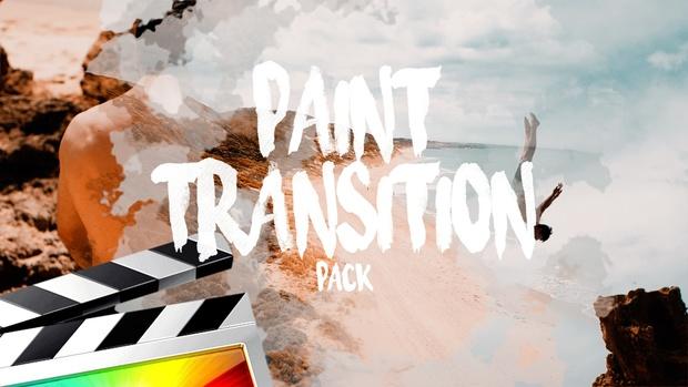 Paint Transitions - Final Cut Pro X