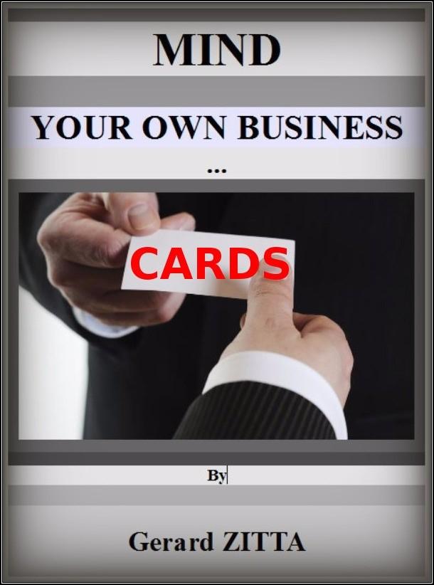 Mind Your Own Business Cards Gerard Zitta