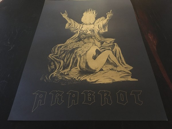 Årabrot - Screenprinted Arts Poster