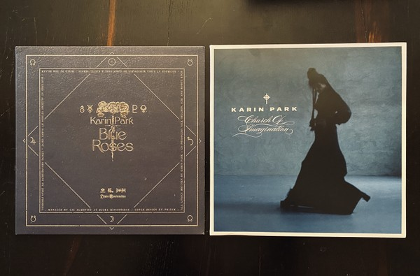 Karin Park -Church Of Imagination LP  + Blue Roses EP bundle