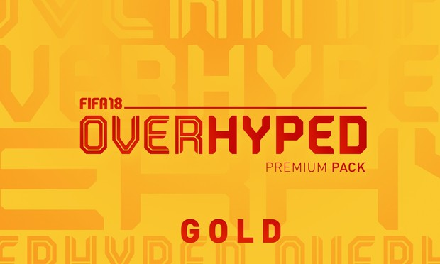 OVERHYPED™ FIFA 18 Pack Gold Pre-Order