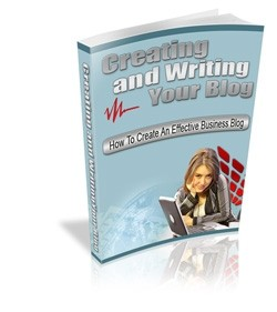 Creating And Writing Your Blog