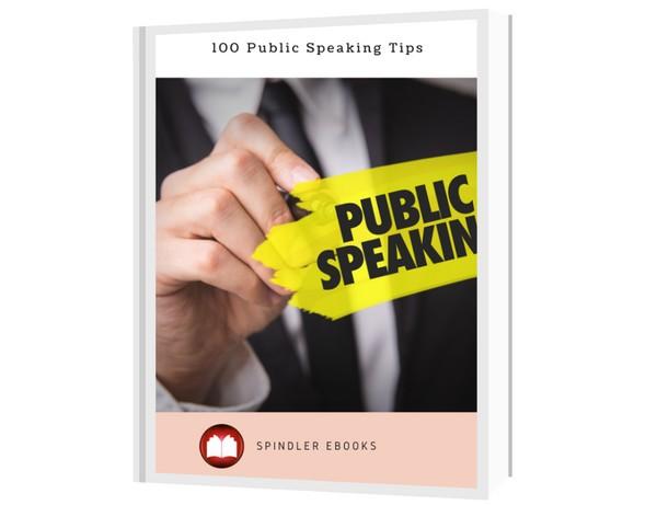 100 Public Speaking Tips