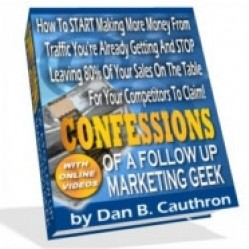 Confessions Of A Follow Up Marketing Geek