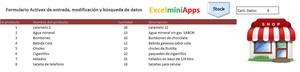 Plantilla Ingreso, búsqueda y modificación de datos en Excel con Formulario ActiveX