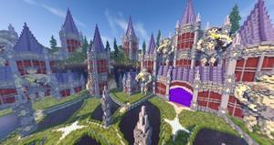 Minecraft Hub | Fantasy Castle Hub