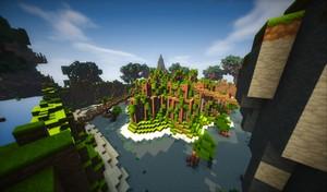 Minecraft | Overgrown Hub