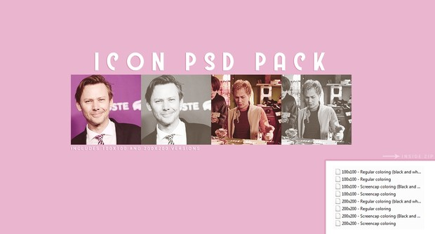 Icon PSD Pack