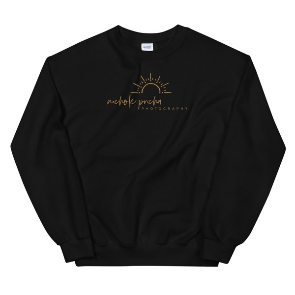Sweatshirt with Gold Logo