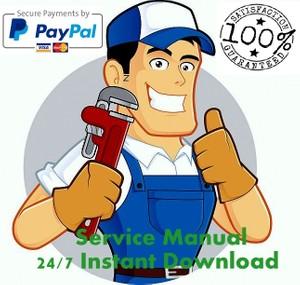 Bobcat X320 Mini Excavator Service Repair Workshop Manual Download