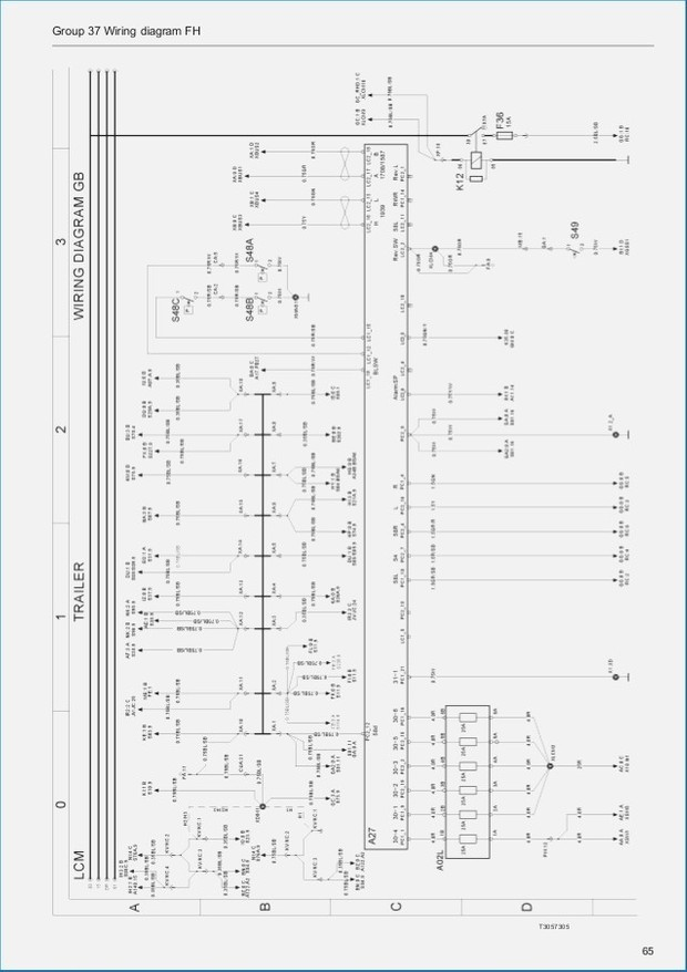 volvo trucks and buses electrical wiring diagram manua