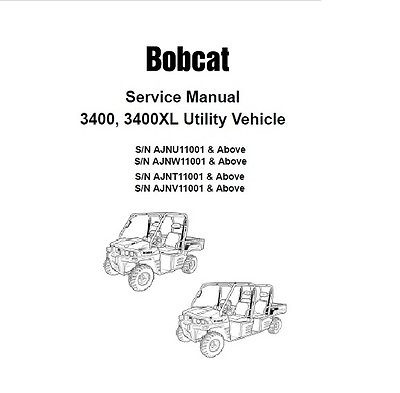 bobcat utv wiring diagrams data wiring diagram site Bobcat 753 Electrical Diagram bobcat 3400, 3400xl utv service repair manual pdf s n 632 bobcat wiring diagram bobcat 3400