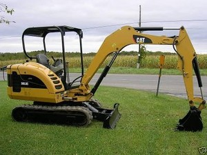 Caterpillar 302.5C Mini Hydraulic Excavator Repair Service Manual S-N: GBB