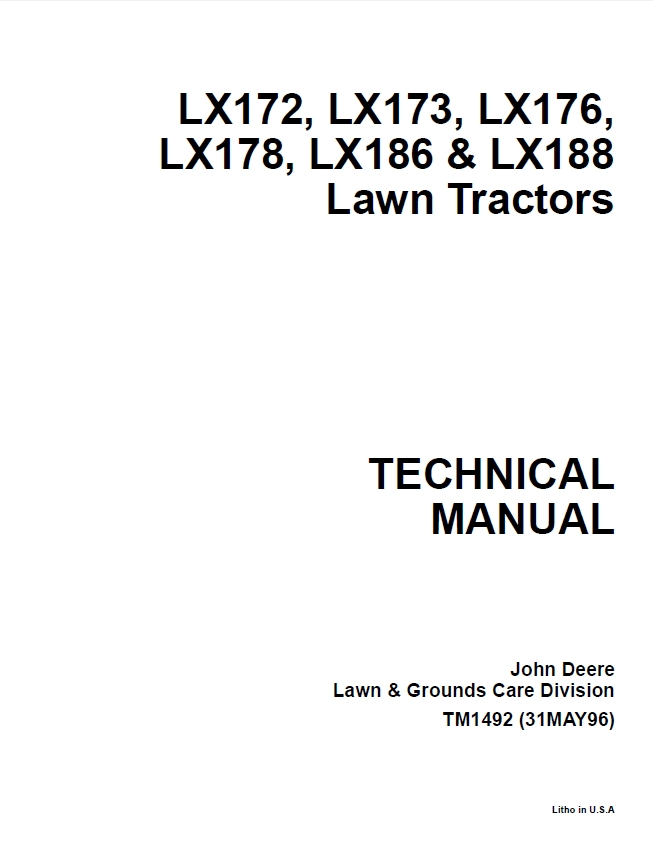 john deere lx172 repair manual free owners manual u2022 rh wordworksbysea com john deere lx188 manual john deere lx188 manual free download