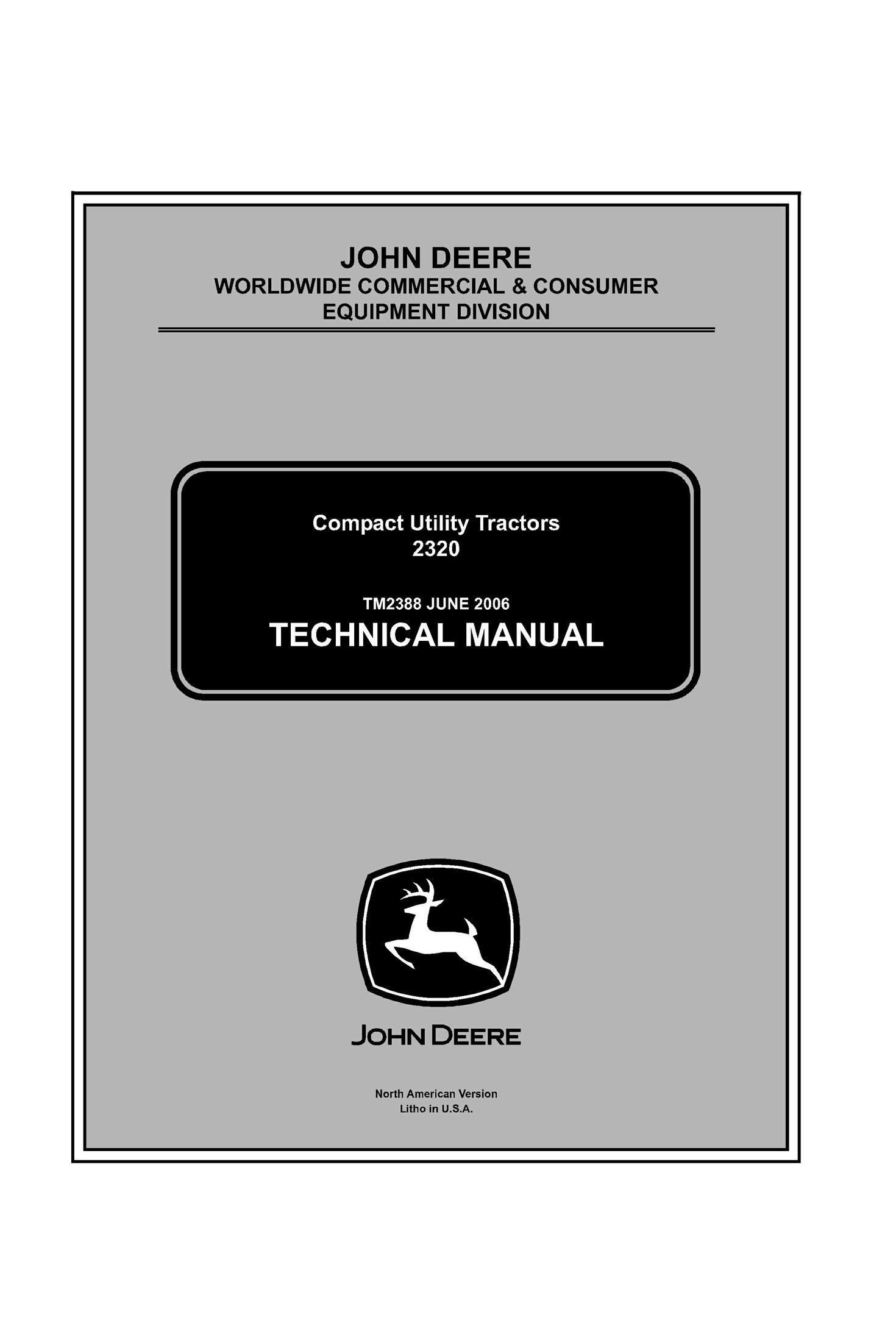 John Deere Mower Manuals Free Download Trusted Wiring Diagrams 8960 Diagram 2320 Compact Utility Tractor Servi Rh Sellfy Com Manual