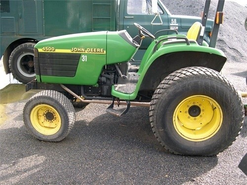 DOWNLOAD John Deere 4500, 4600 and 4700 Compact Utility Tractors Service Technical Manual