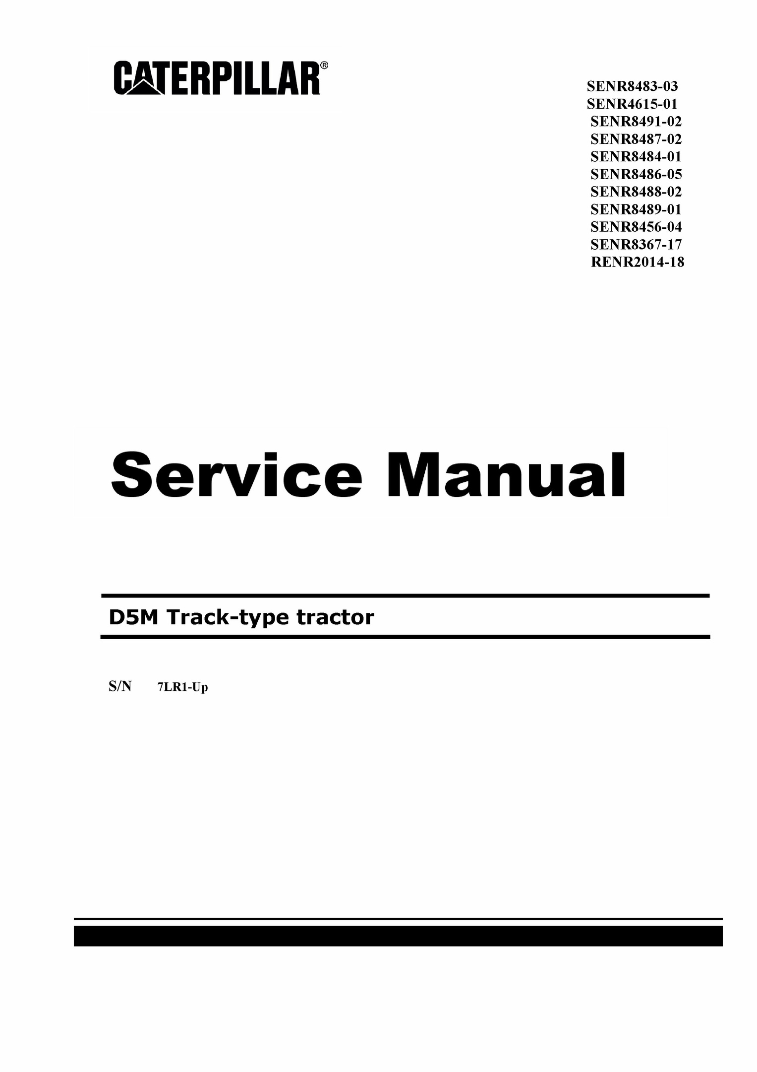 Workshop Manual. Selfless Massey Ferguson 7700 Series Tractors Agriculture/farming