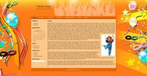 Template WordPress Mascherine