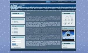 Template WordPress Ice