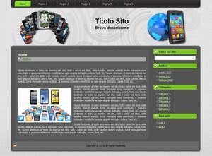 Template WordPress Telefonia