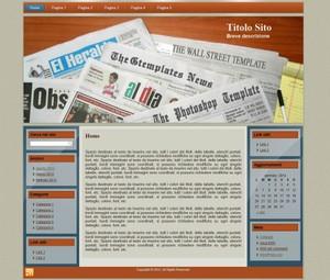Template WordPress Magazine