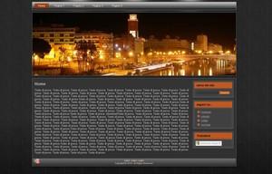 Template WordPress Pescara di notte