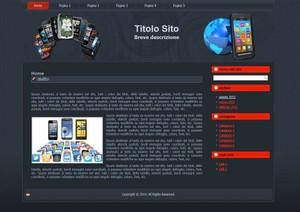 Template WordPress Telefonia 1