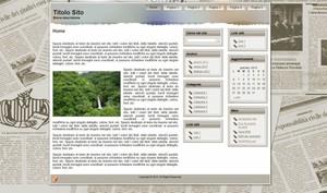 Template WordPress Giornale 2