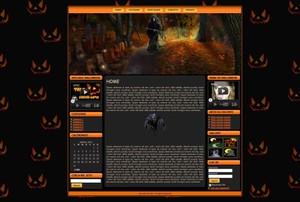 Template WordPress Halloween