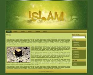 Template WordPress Islam