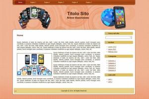 Template WordPress Telefonia 3