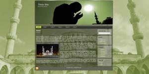 Template WordPress Moschea Verde
