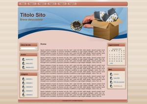 Template WordPress Scatola