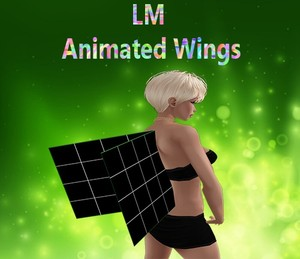 Animated Wings Mesh Catty Only!!!
