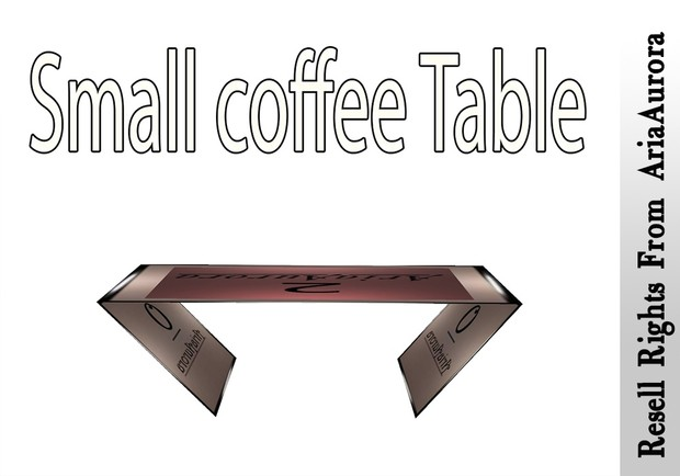 Small Coffee Table Mesh Catty Only!!!