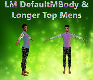Default Body & Longer Top Male Mesh Catty Only!!!!