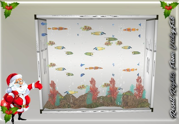 Animated Aquarium Mesh Catty Only!!!