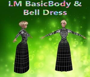 Basic Body & Bell Dress Mesh Catty Only!!!